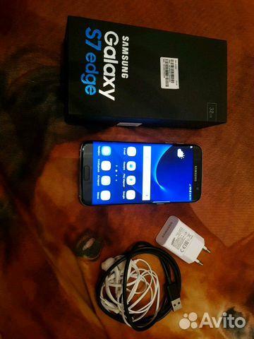 SAMSUNG Galaxy s7 edge SM-G935F оригинал, в идеаль