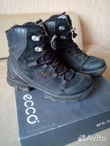 Сапоги зимние Ecco  купить 2
