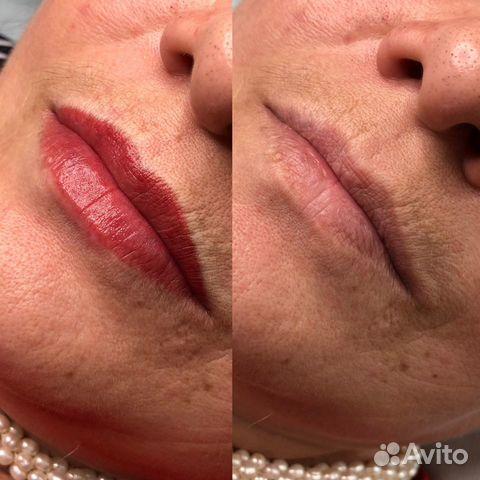 Перманентный макияж бровей (татуаж)  89275558544 купить 4