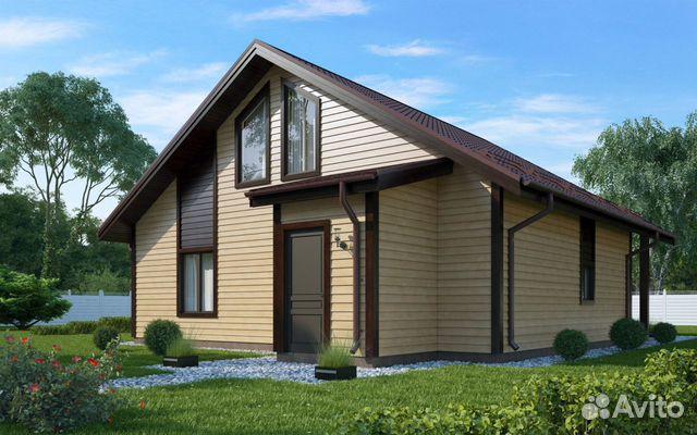 House of 150 m2 på en tomt på 10 hundra.