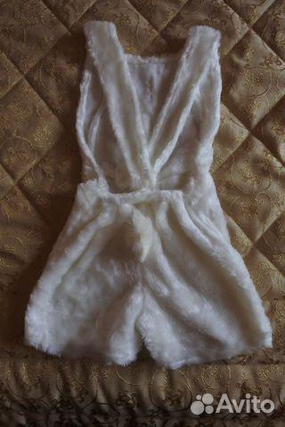 Костюм зайца р.110 (2-4 года)  89616848492 купить 2