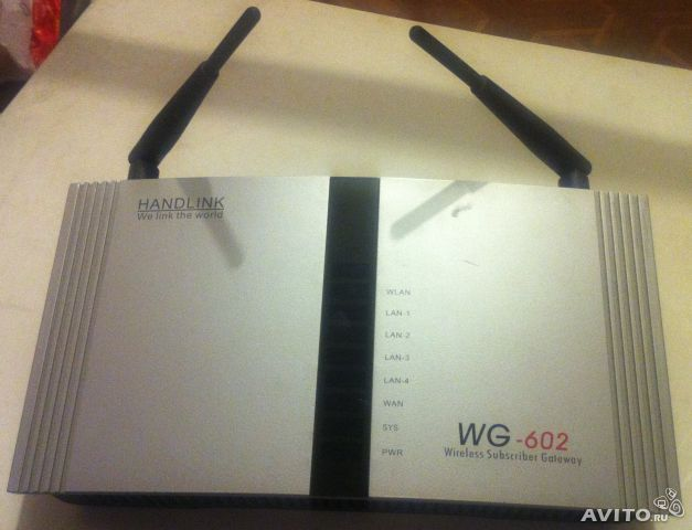 HandLink WG-602 Wireless Subscriber Gateway— фотография №1