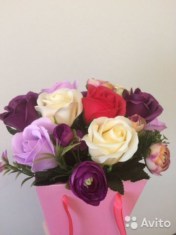 Мыльные Цветы 89654987799 купить 6