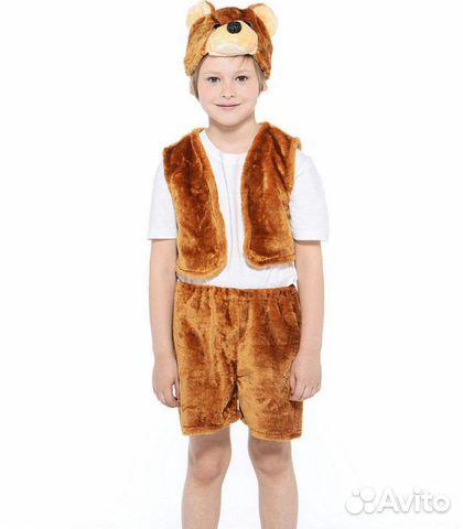 Карнавальный костюм бурого медведя 89537237020 купить 1