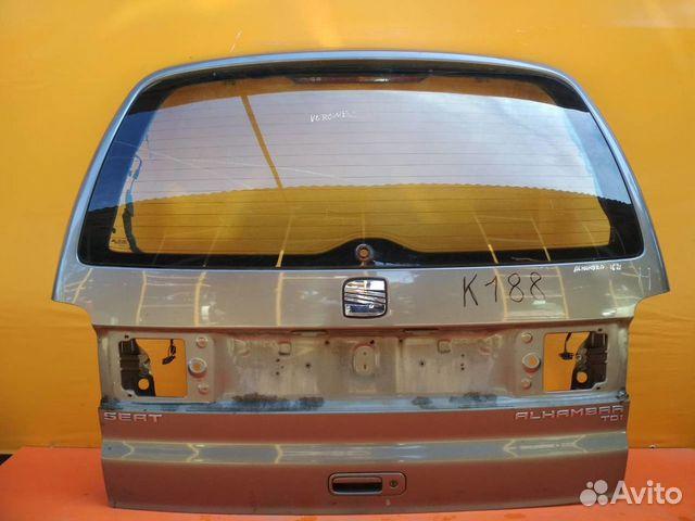 84732022776 Дверь багажника со стеклом seat Alhambra 2000-2009