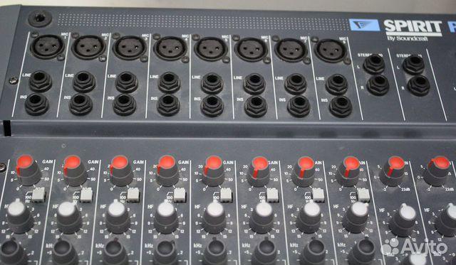 Активный микшерный пульт Soundcraft усилок 600W UK  купить 7