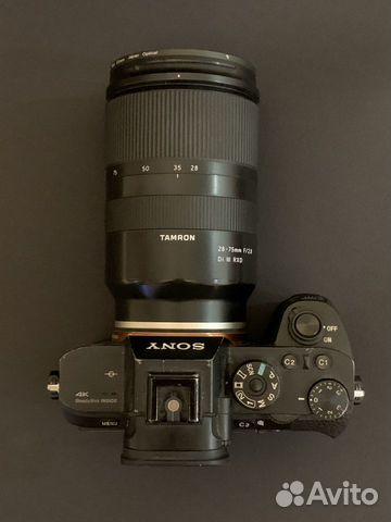Sony A7s II + Tamron 28-75 f2.8 купить 4