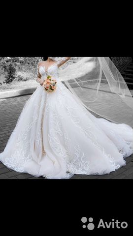 Платье свадебное роскошное 42-46 разм