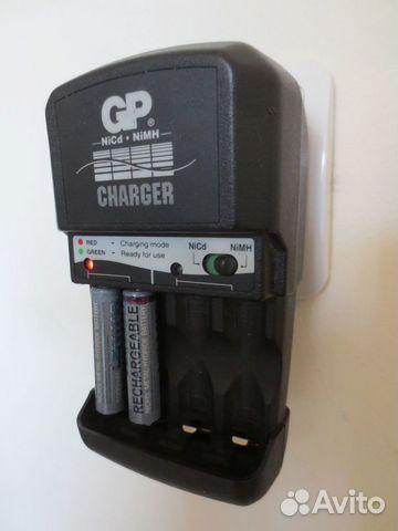 Зарядное аа/ааа аккумуляторов