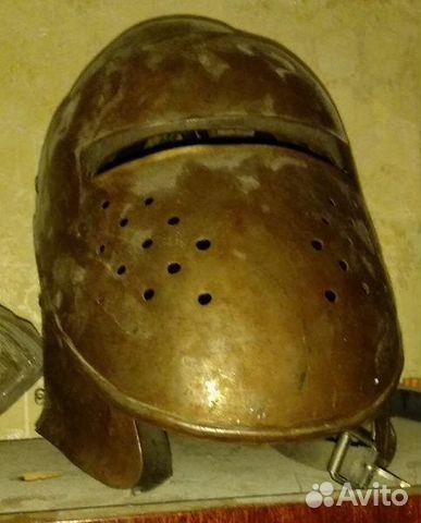 Шлем стальной бацинет с забралом  89044498223 купить 4