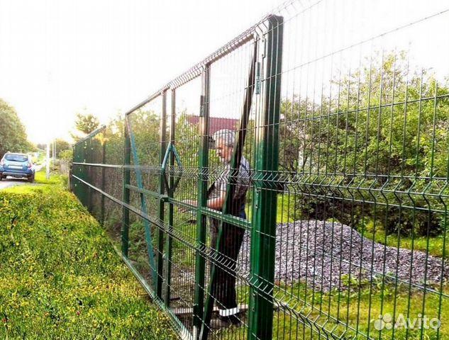 Забор из сварной сетки  купить 4