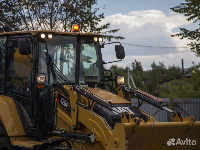 Экскаватор-погрузчик Caterpillar 426F2 2020  88007079165 купить 9