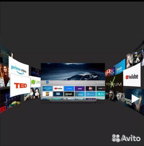 Телевизор безрамочный 40 дюймов Smart TV Skyworth  89085075350 купить 2
