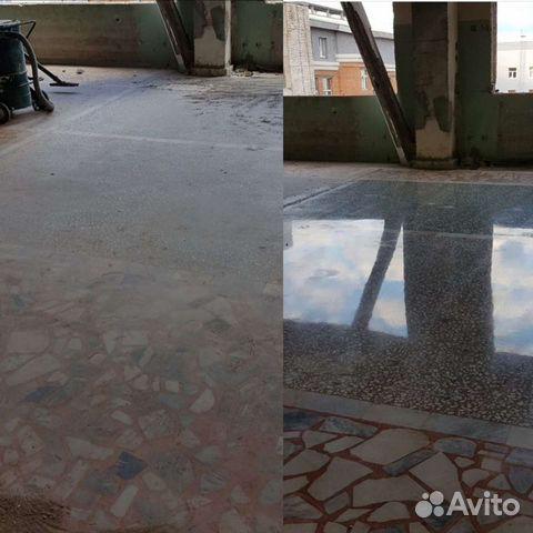 полировка бетона уфа