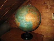 Глобус, очень большой