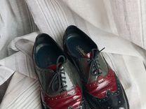 Ботинки baldinini trend из лаковой кожи