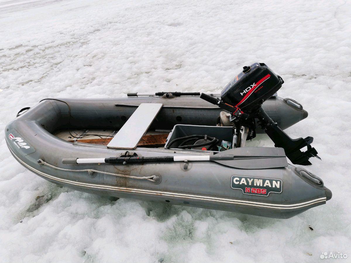 Лодка пвх-285. Матор HDX-5  89681480167 купить 1