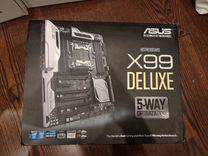 Asus x99 deluxe полный комплект