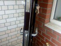 Дверь входная металлическая б\у