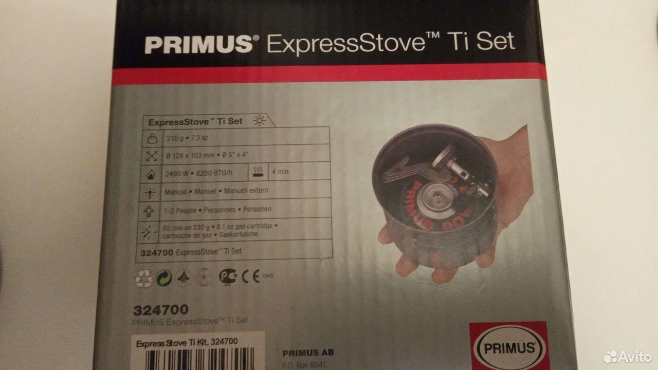 Титановая система Primus Express Stove Ti & TiTech  89885231497 купить 8