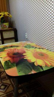Стол кухонный с фотопечатью - Мебель и интерьер - Объявления в Марксе