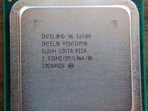 Intel Pentium E6500 2933MHz LGA 775