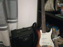 Гитара +комбик