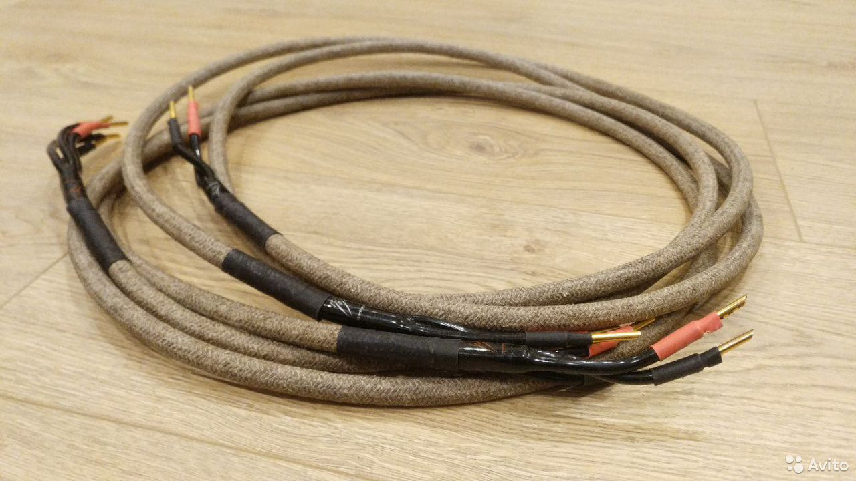 Акустический кабель Western Electric 30-х годов Би  89313599864 купить 2