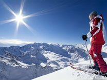 Горные лыжи с ботинками женские Обмен