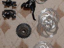 Велозапчасти разные