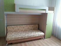 Кровать-чердак + матрас