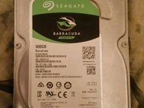 Жесткий диск 500 гб SATA 3 seagate — Товары для компьютера в Москве