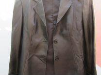 Пиджак кожаный. Женский