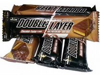 Протеин Maxler Double Layer Bar 60 гр * 12 шт