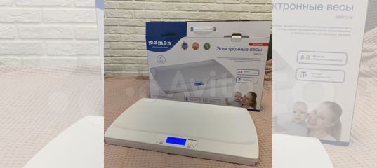 Электронные детские весы Maman sbbc216 купить в Московской области   Личные вещи   Авито