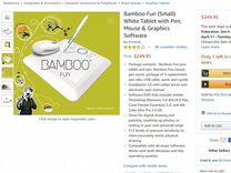 Графический планшет Wacom Bamboo