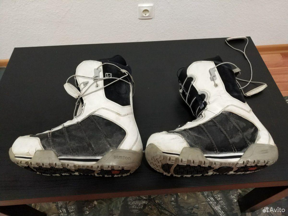 Сноубордические ботинки burton ruler 42 размер  89655330861 купить 4