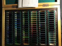 Набор образцов цветных оптических стекол