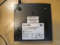 Модем adsl2+Annex A/B Zyxel P660RT2EE