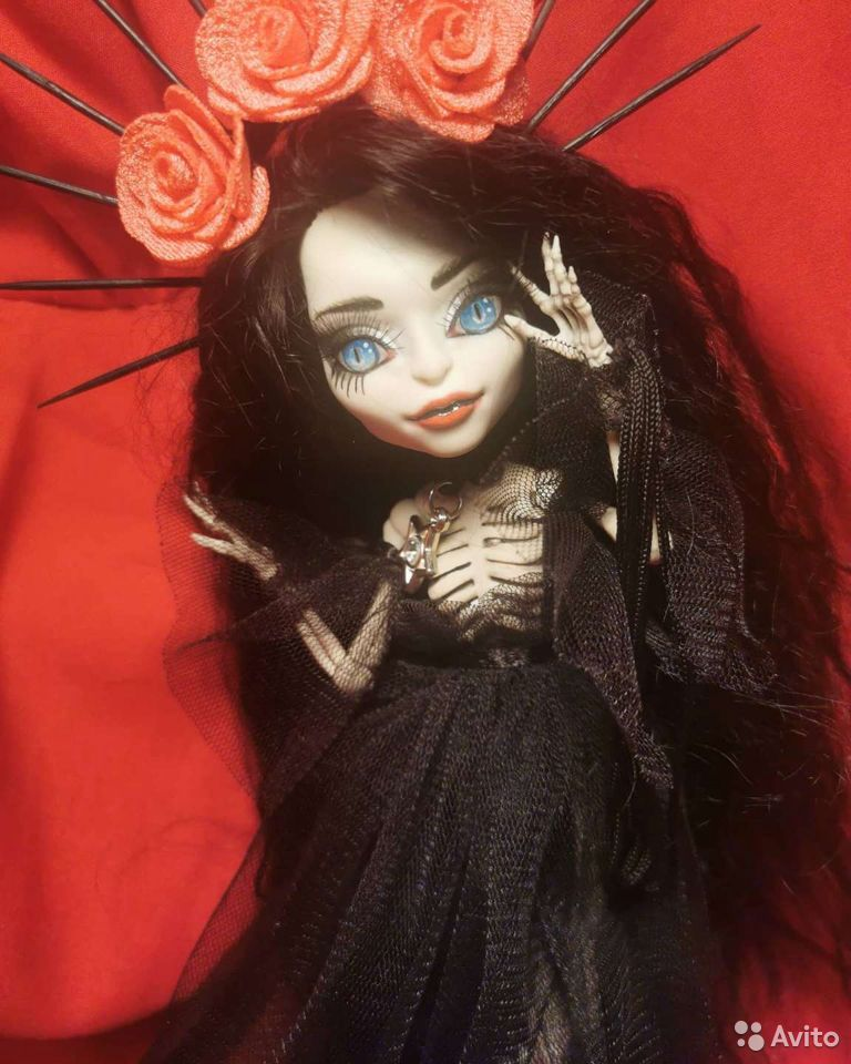 Ооак кукла Скелита  89182777143 купить 4
