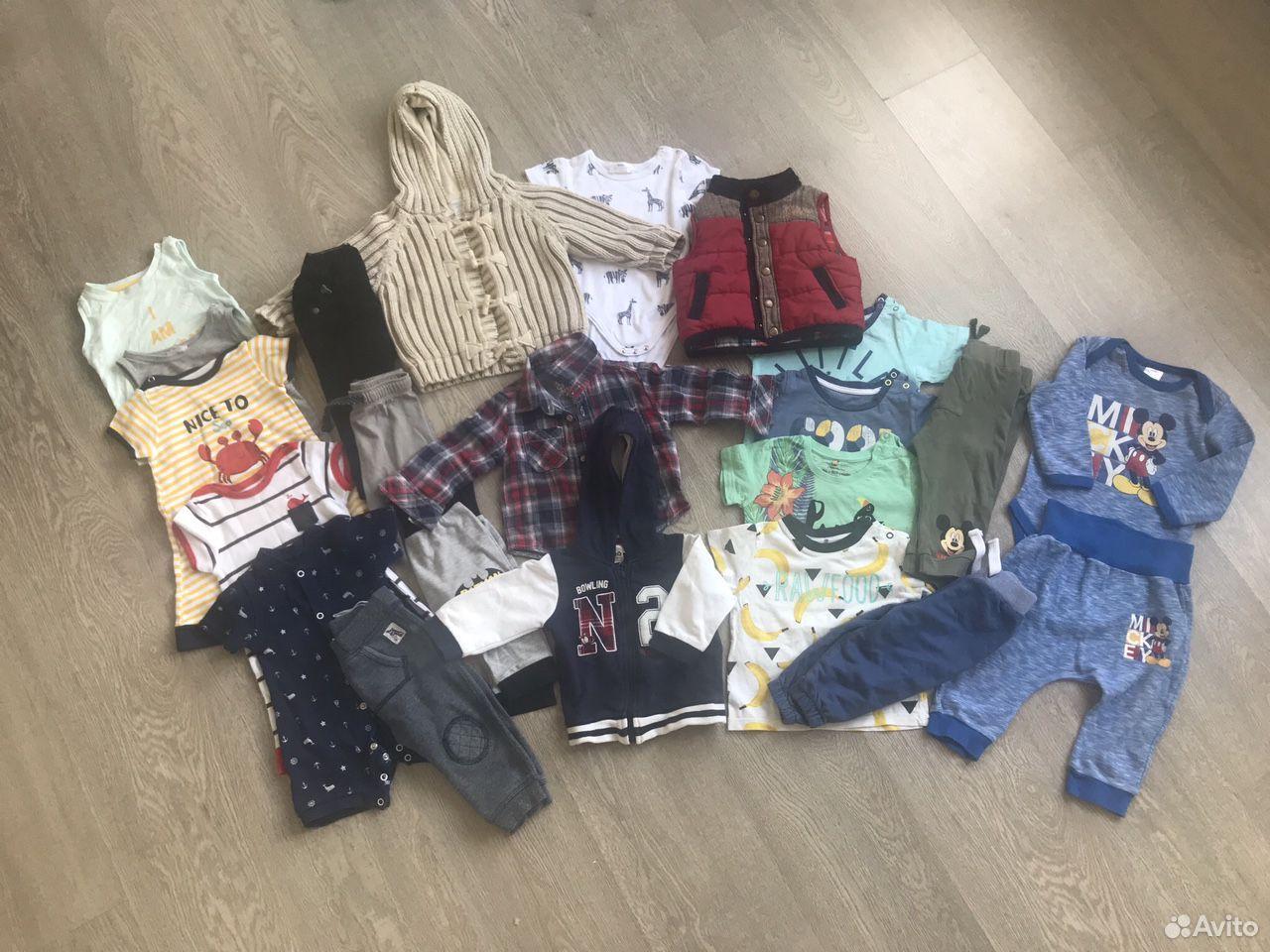 Пакет вещей на мальчика 6-9 м 68 см  89130862840 купить 1