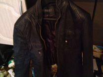Кожанная натуральная куртка