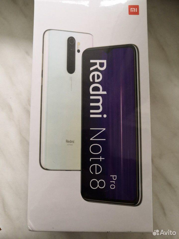 Новый Xiaomi Redmi Note 8 Pro, 6/64 Гб. Запечатан  89176645033 купить 1