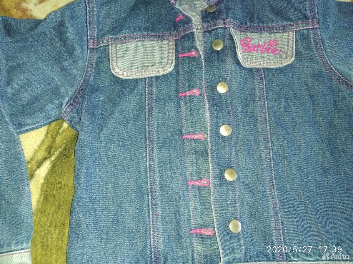 Джинсовые куртки и ветровка для девочки 7-8 лет  89109631283 купить 2