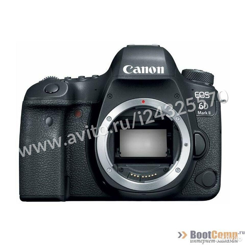 Фотоаппарат Canon EOS 6D mark II body  84012410120 купить 1