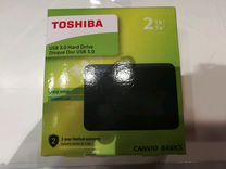 Внешний жёсткий диск Toshiba 2Tb