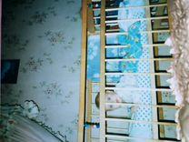 Кроватки б у для новорожденных на авито