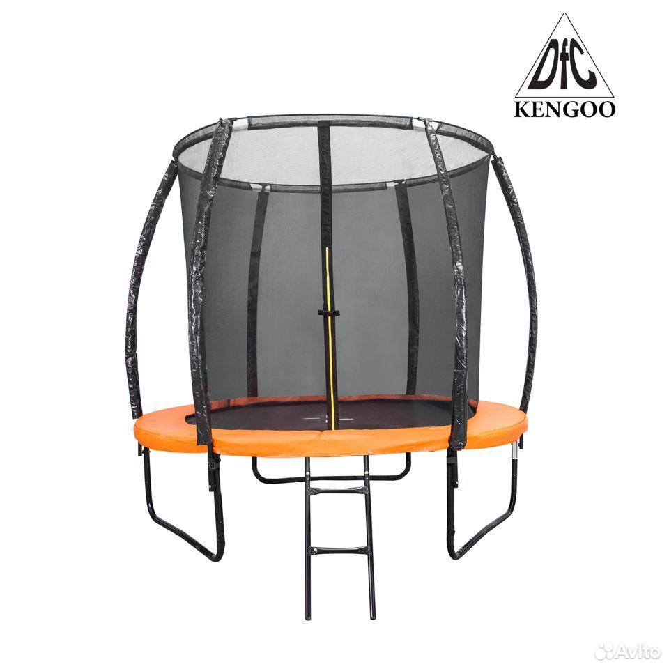 Батут DFC trampoline kengoo II С сеткой 10FT-BAS-B  89016083584 купить 1