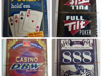 Пластиковые,американские игральные карты в покер