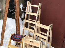 Стремянки деревянные ходули
